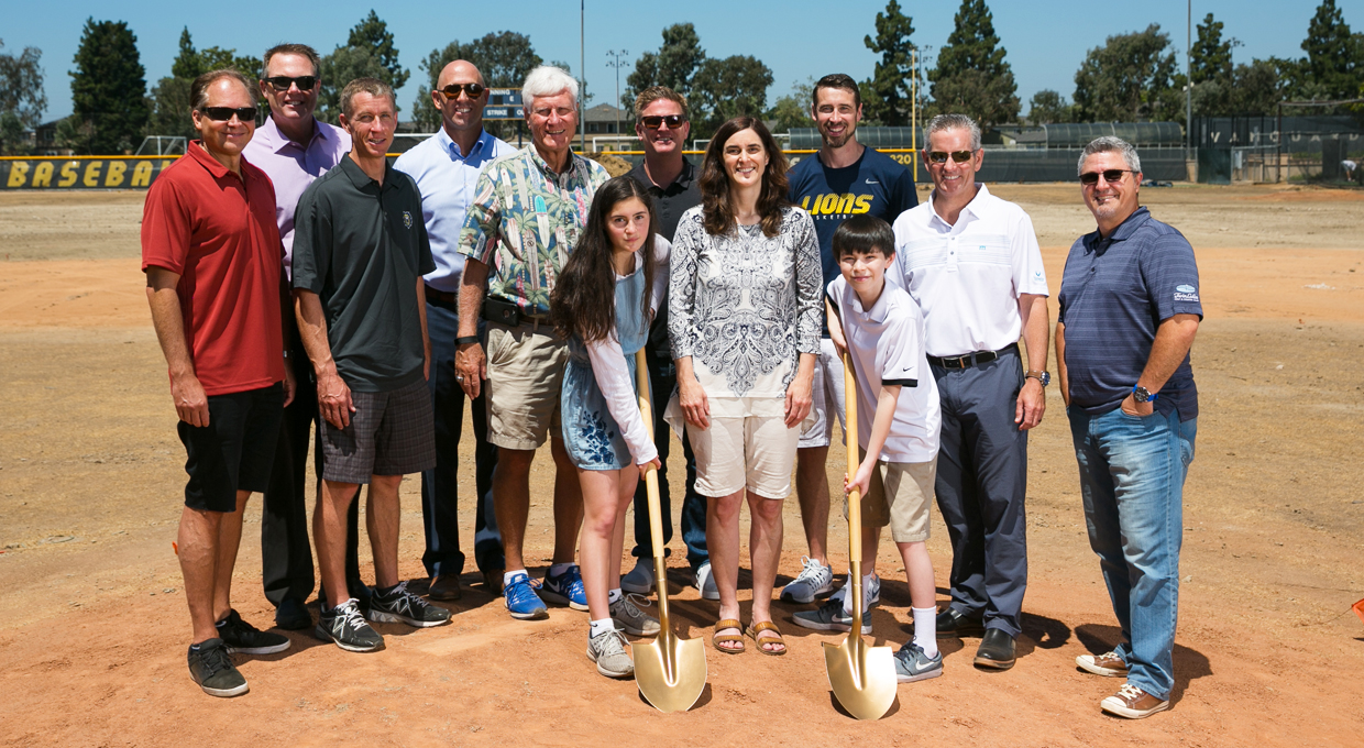 Photo for Vanguard Officially Breaks Ground on Dean Harvey Field